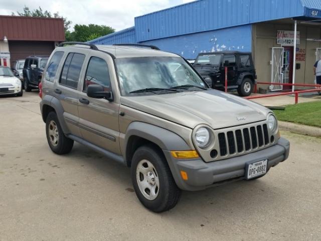 Jeep Liberty 2006 Gold